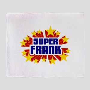 Frank the Super Hero Throw Blanket