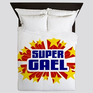 Gael the Super Hero Queen Duvet