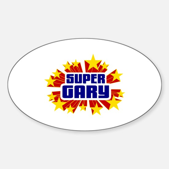Gary the Super Hero Decal