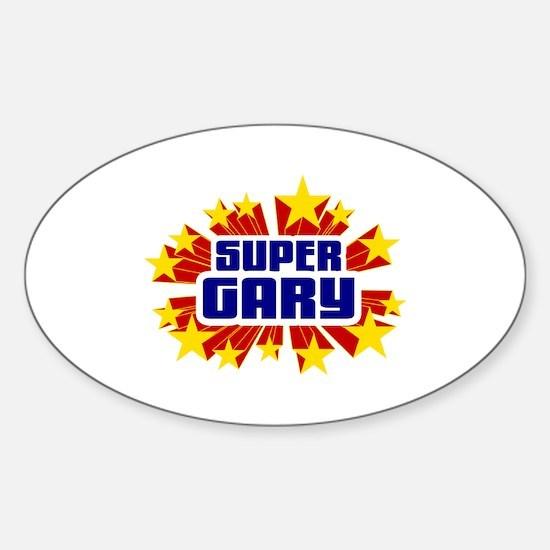 Gary the Super Hero Stickers