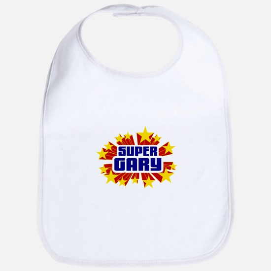 Gary the Super Hero Bib