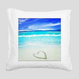 Message Square Canvas Pillow