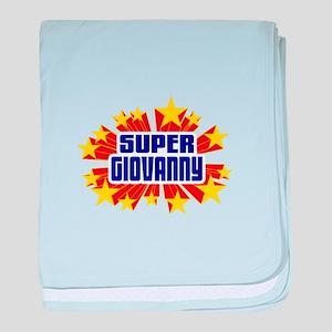 Giovanny the Super Hero baby blanket