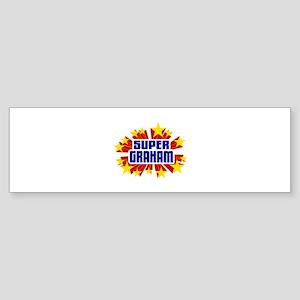 Graham the Super Hero Bumper Sticker