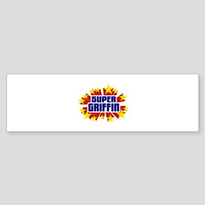 Griffin the Super Hero Bumper Sticker