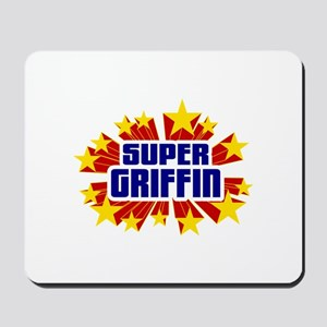 Griffin the Super Hero Mousepad