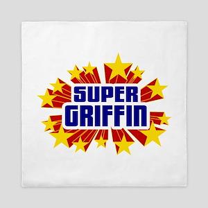 Griffin the Super Hero Queen Duvet