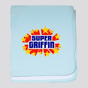 Griffin the Super Hero baby blanket