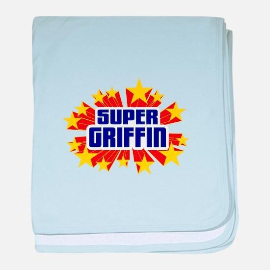 Griffin the Super Hero baby blanket