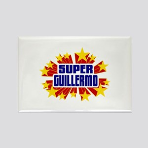 Guillermo the Super Hero Rectangle Magnet