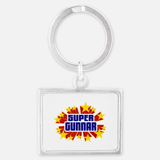 Gunnar the Super Hero Keychains