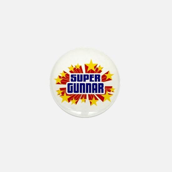 Gunnar the Super Hero Mini Button