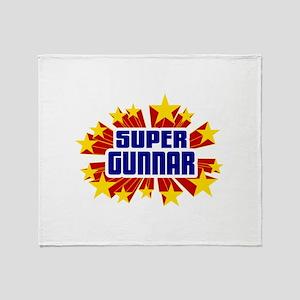 Gunnar the Super Hero Throw Blanket