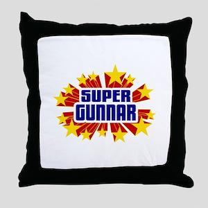Gunnar the Super Hero Throw Pillow