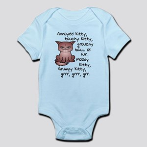 Grouchy Kitty Body Suit