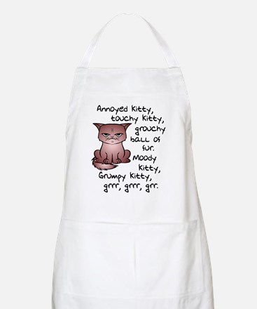 Grouchy Kitty Apron