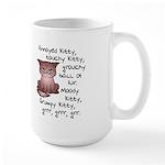 Grouchy Kitty Mug