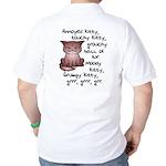 Grouchy Kitty Golf Shirt