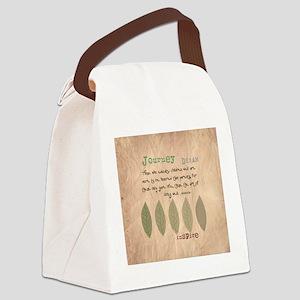 retired teacher INSPIRE PILLOW Canvas Lunch Bag