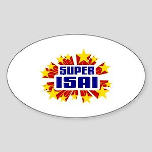 Isai the Super Hero Sticker
