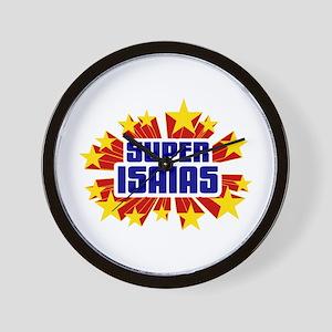 Isaias the Super Hero Wall Clock