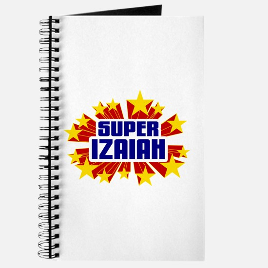 Izaiah the Super Hero Journal