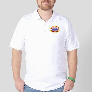 Jabari the Super Hero Golf Shirt
