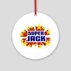 Jack the Super Hero Ornament (Round)
