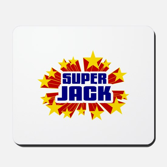 Jack the Super Hero Mousepad