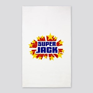 Jack the Super Hero 3'x5' Area Rug