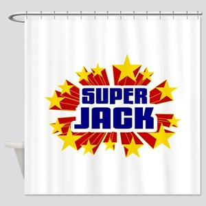 Jack the Super Hero Shower Curtain