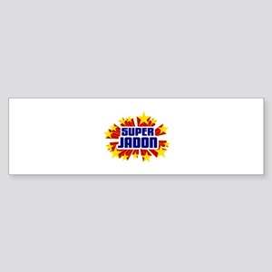 Jadon the Super Hero Bumper Sticker