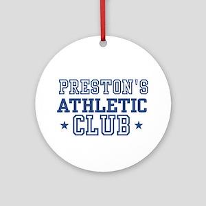 Preston Ornament (Round)