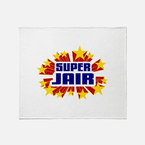 Jair the Super Hero Throw Blanket