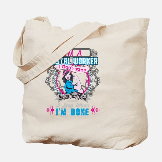 Cool Super social worker Tote Bag