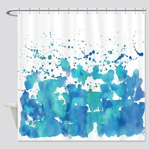 Aqua! Shower Curtain