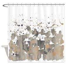 Beaver burst Shower Curtain