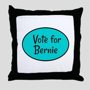 Vote for Bernie Throw Pillow