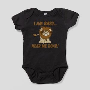 Funny Hear Me Roar Baby Bodysuit