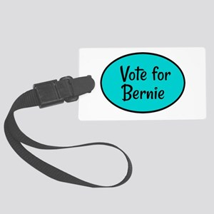 Vote for Bernie Large Luggage Tag