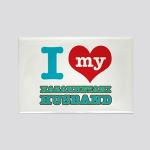 I love my Kazakhstani husband Rectangle Magnet