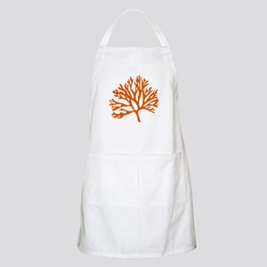 red sea fan coral drawing Apron