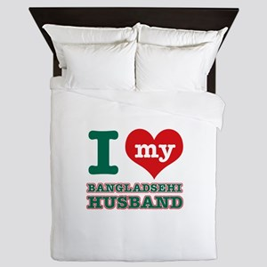 I love my Bangladeshi husband Queen Duvet