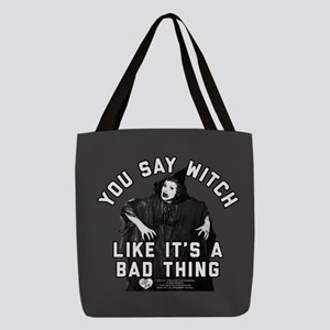 I Love Lucy You Say Witch Polyester Tote Bag