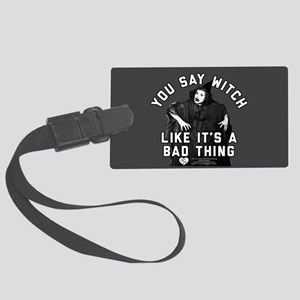 I Love Lucy You Say Witch Large Luggage Tag