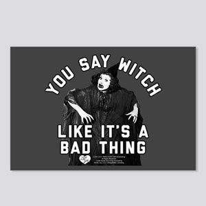 I Love Lucy You Say Witch Postcards (Package of 8)