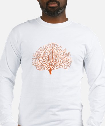 red sea fan coral Long Sleeve T-Shirt