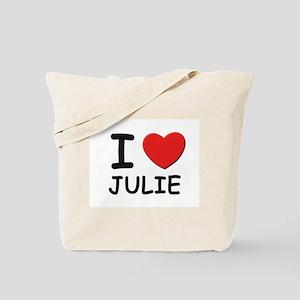 I love Julie Tote Bag