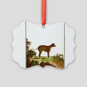 Dog (Small Dane) Ornament