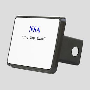 "NSA ""I'd Tap That"" Rectangular Hitch Cover"